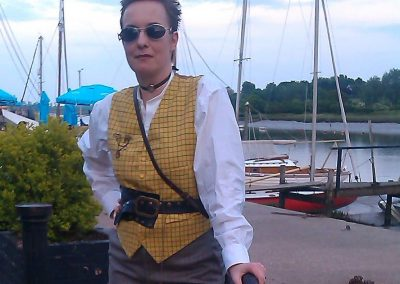 Steampunk Traveller at Cabaret Event